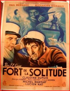 Filmposter Fort de la Solitude